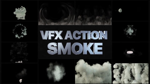 VFX Action Smoke After Effects Template