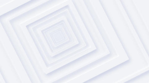 Clean White Neomorphism Squares Background Animation