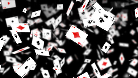 Aces cards.Poker Animation