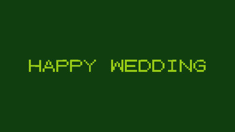[Opening]Happy Wedding[GB] Animation