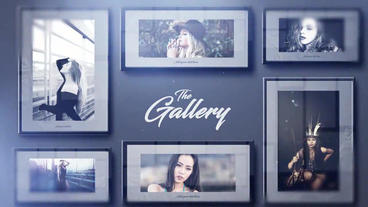 The Gallery After Effects Project