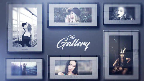 The Gallery After Effects Template
