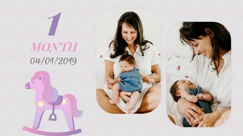 Baby memories slideshow Premiere Pro Template