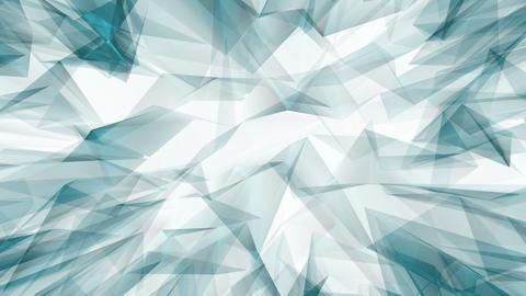 Blue Triangle Animated Background.Footage 動畫