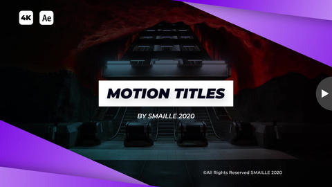 Motion Titles After Effects Template
