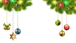 Christmas Decorations On Transparent Background 01 Animation