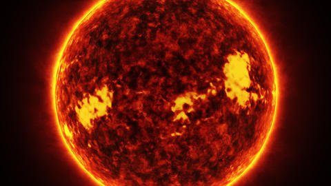 Concept-U1 View of the Realistic Sun from Space Animation