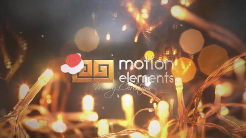 Christmas Logo Intro After Effects Template