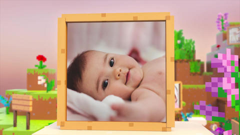 Kids Photo Slideshow After Effects Template