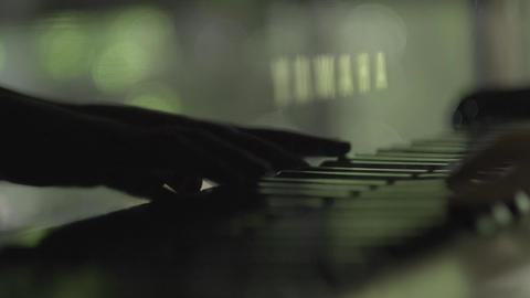 piano hands ピアノを演奏する手 ビデオ