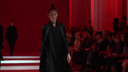 Fashion show in action Footage