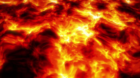 Concept 1-A1 Abstract Fluid Lava Lake Background 動畫