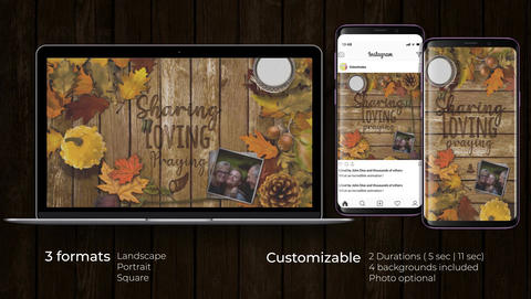 Thanksgiving Opener After Effects Template