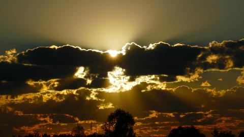 sunrise clouds sky background, timelapse 4k Footage