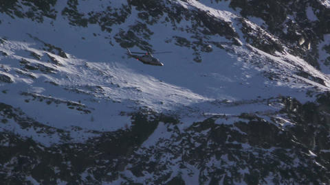 Helicopter White Mountain Footage