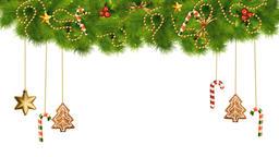 Christmas Decorations On Transparent Background 07 Animation