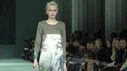 Model walks in fashion show Footage