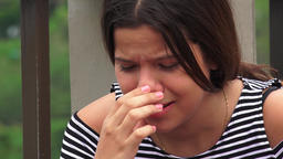 Abuse Victims Or Teen Girls Crying Footage