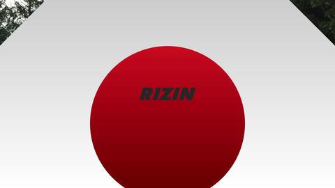 RIZIN風_スウィッシュ After Effectsテンプレート