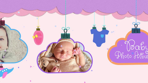 Baby Photo Album Apple Motion Template