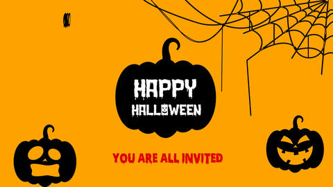 Halloween V2 After Effects Template