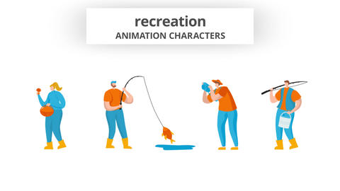Recreation - Character Set After Effects Template