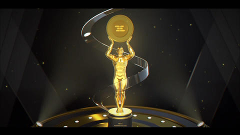 Award Logo Opener After Effects Template