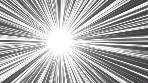 アメコミ風 集中線 After Effectsテンプレート