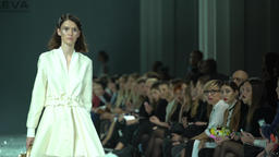 Girl in fashion show Footage