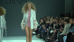 Fashion show on the catwalk Footage