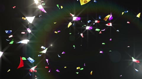 Confetti 3 Top 8XB 4K CG動画素材