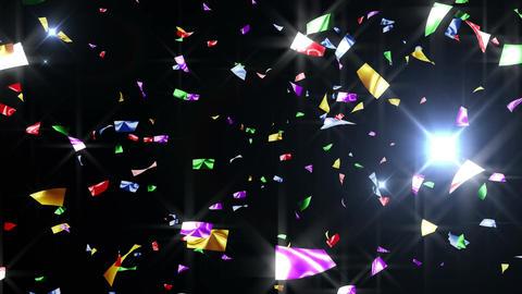 Confetti 3 Top 8XB L 4K CG動画素材