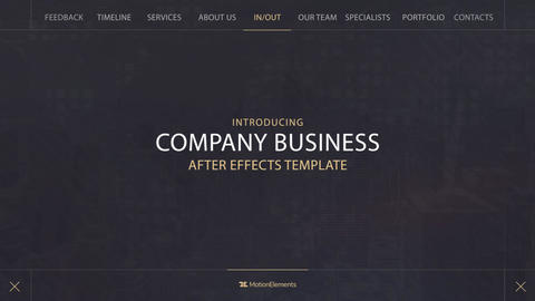 Corporate Business Promotion After Effects Template