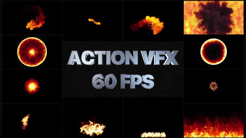 Fire VFX Motion Graphics Template