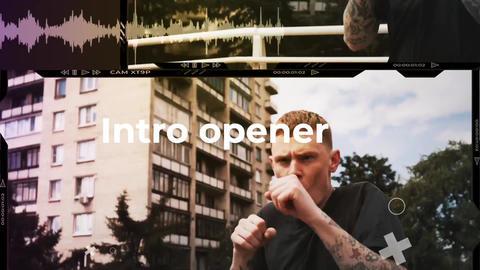 Urban Electro Opener intro Premiere Proテンプレート