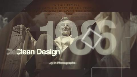 History Timeline Opener - Timeline Slideshow Final Cut Pro Apple Motion Template