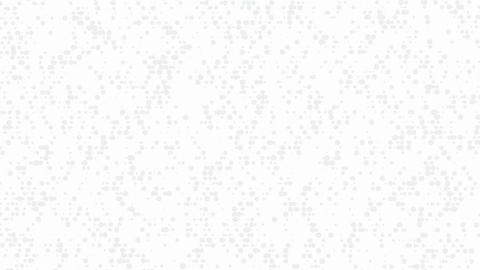 Trendy White Motion Background with Dynamic Gray Halftone Dots Animation