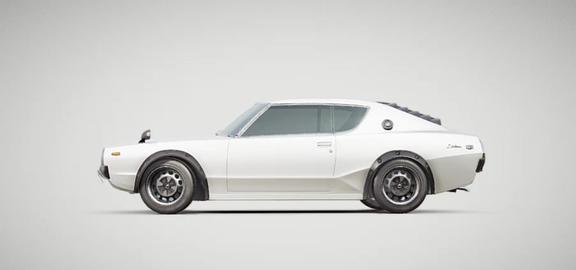 Car Vintage Futuristic 1
