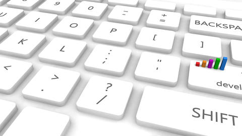 Training and Development With One Keyboard Button Click Animation
