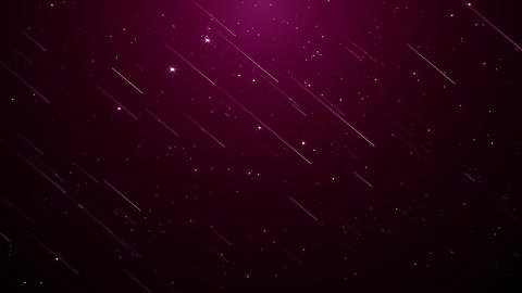 Particles pink event game trailer titles cinematic concert stage background loop Animation
