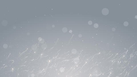 Particles white event business clean bright glitter concert stage background loop Animation