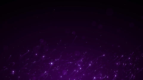 Particles violet event game trailer titles cinematic concert stage background loop Animation