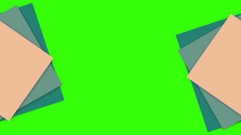 squares green screen blue green screen transition green screen squares geometric blue Animation