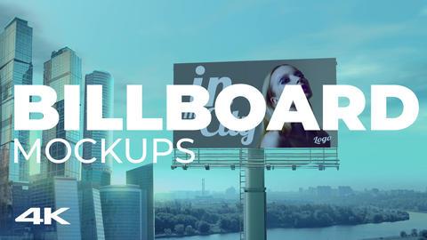 Billboard Mockups Plantilla de After Effects