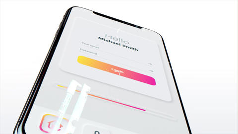 Clean App Promo After Effects Template