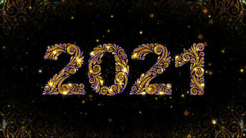 2021 New Year Gold Animation 動畫