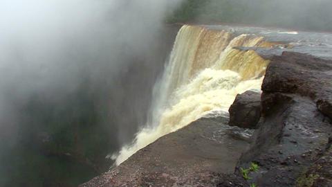 Guyana South America Kaieteur Waterfall 1 Footage