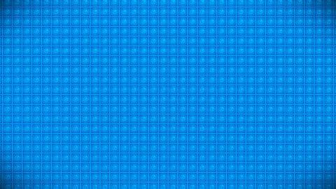 Broadcast Pulsating Hi-Tech Cubes Wall, Blue, Events, 3D, Loopable, HD 動畫