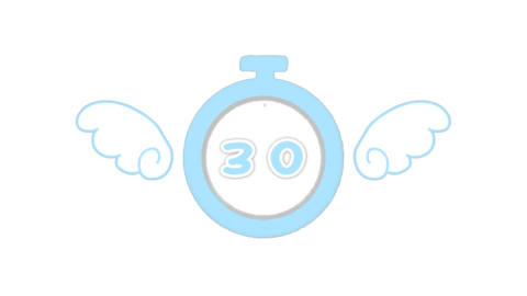 Angel Timer Countdown 30 Seconds Animation