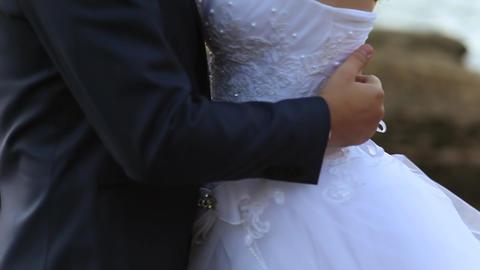 Wedding hugs Footage